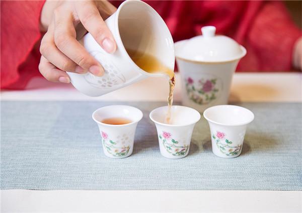 花好月圆8头茶具
