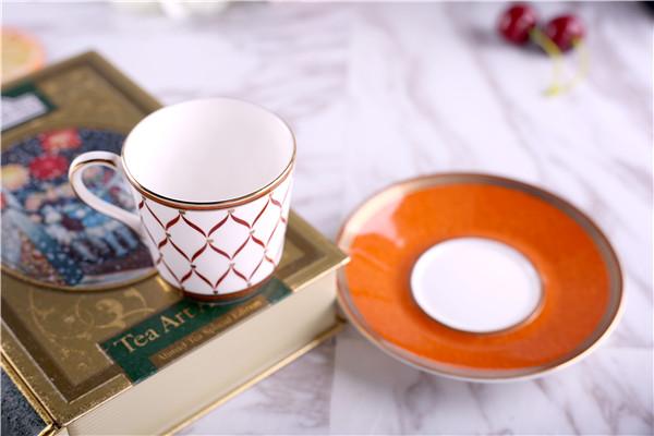 欧式金边咖啡杯