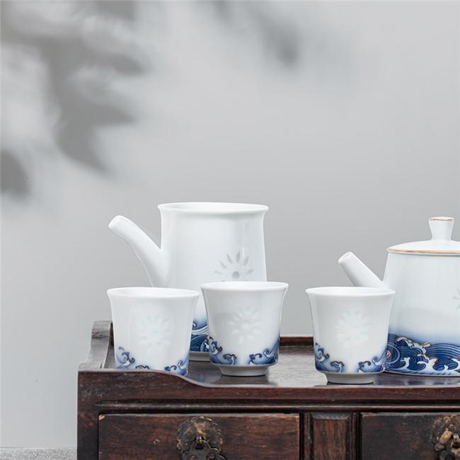 福海生财茶具九件套