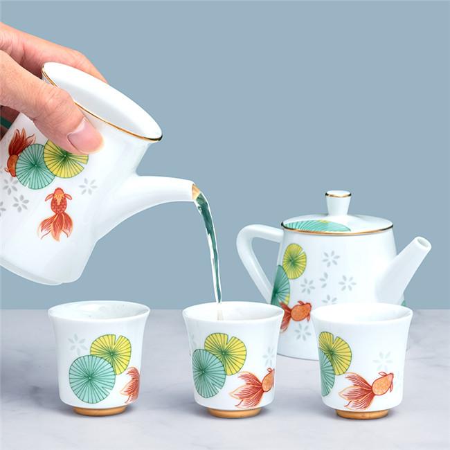 金玉满堂茶具九件套