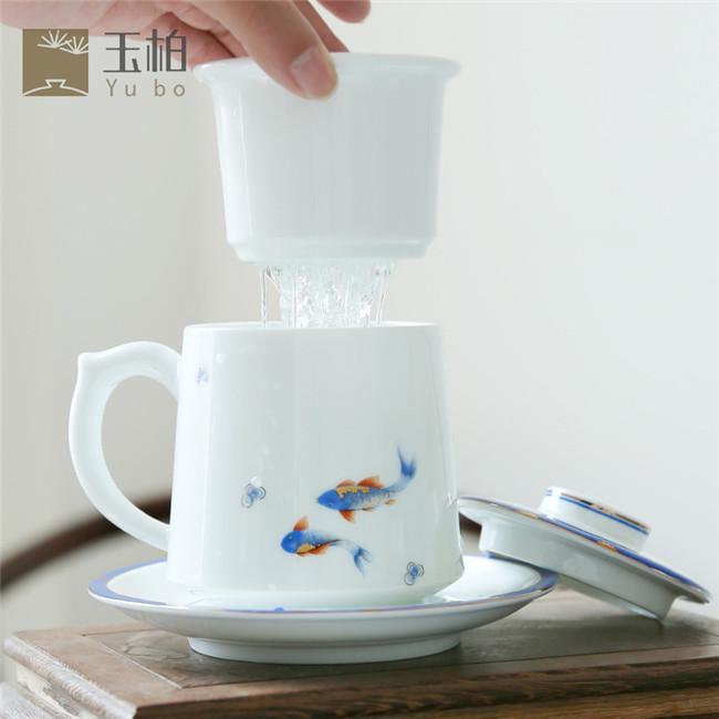 鱼水情深办公杯